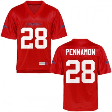 Men's D'Vaughn Pennamon Ole Miss Rebels Authentic Football Jersey - Cardinal