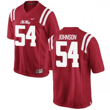 Women's Sam Johnson Ole Miss Rebels Nike Limited Red Football Jersey -